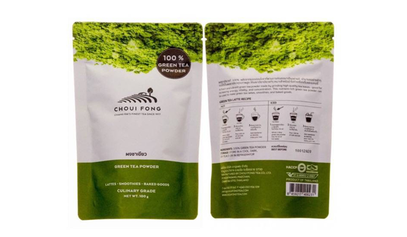 CHOUI FONG ผงชาเขียวแท้ 100 %