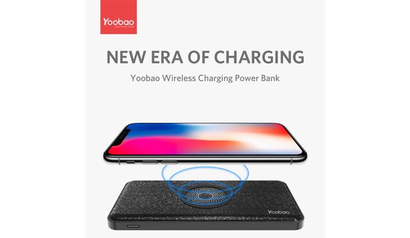 Yoobao wireless power bank w9