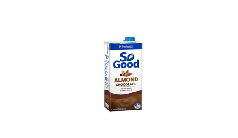 So Good Almond Milk สูตรไม่เติมน้ำตาล