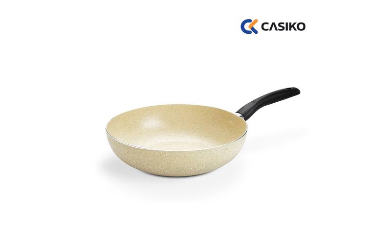 กระทะเคลือบหินอ่อน Casiko รุ่น CK 001