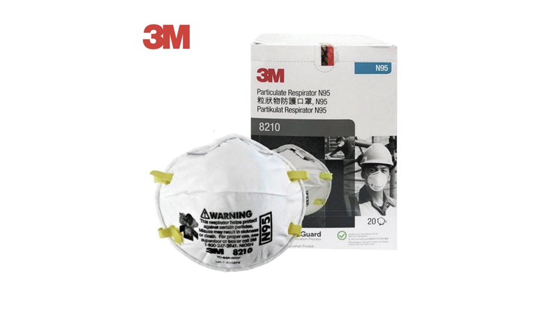 3M Particulate Respirator รุ่น 8210 (N95)
