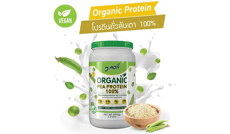 Organic Pea Protein 100%