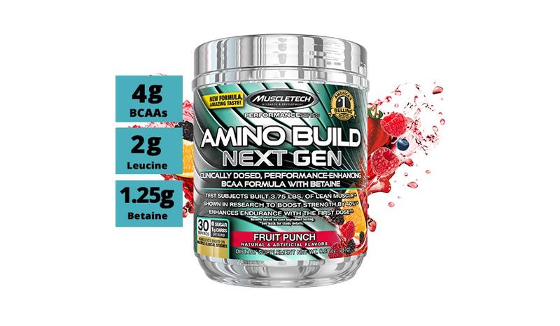 Muscletech Amino Build Next Gen 30 serving