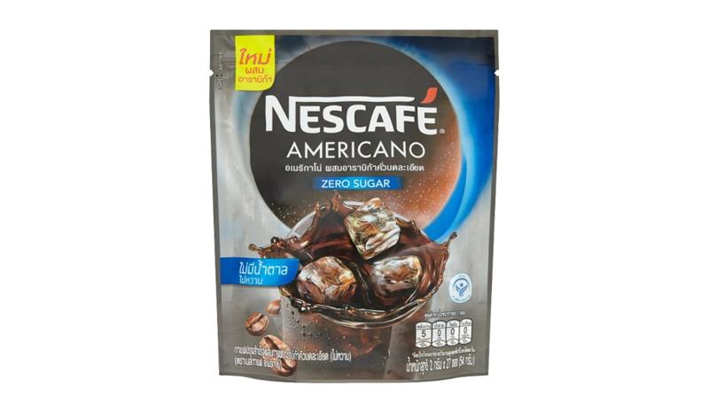 เนสกาแฟอเมริกาโน่ไม่มีน้ำตาลกาแฟปรุงสำเร็จผสมกาแฟอาราบิก้าคั่ว