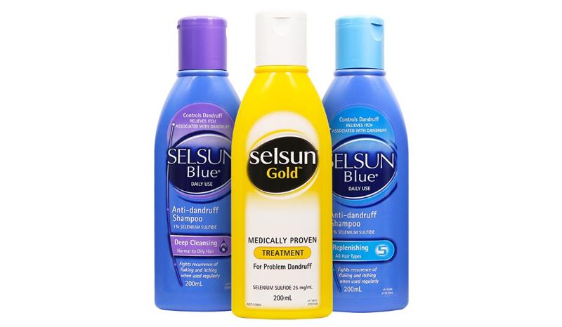 Selsun Shampoo เซลซั่น แชมพู ดูแลหนังศรีษะและลดรังแค