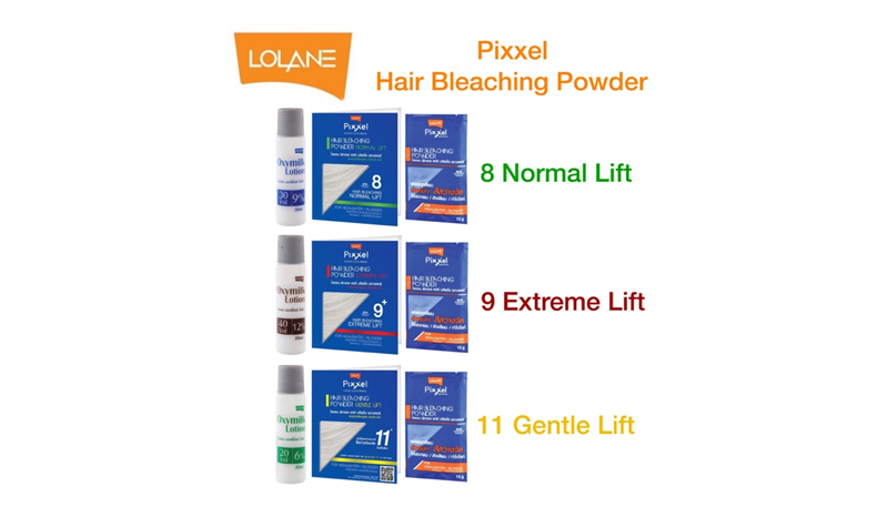 น้ำยากัดผม Lolane Pixxel Hair Bleaching Powder