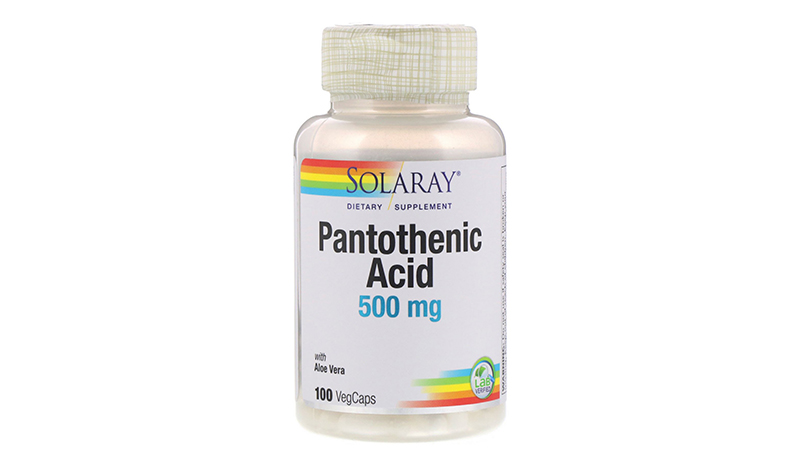 Solaray Pantothenic Acid