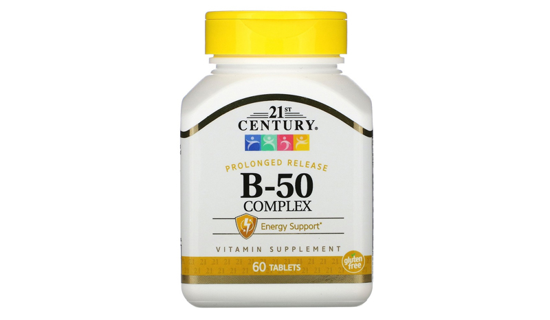 21st Century B-50 Prolonged Release 60 Tablets