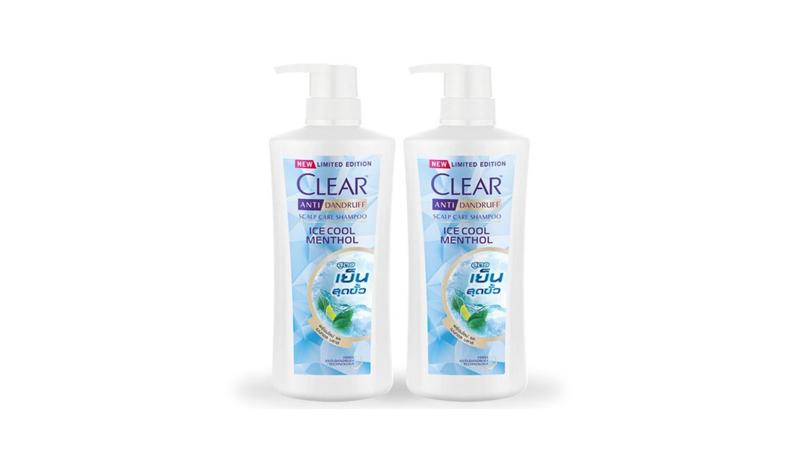 CLEAR Shampoo Ice Cool Menthol Light Blue