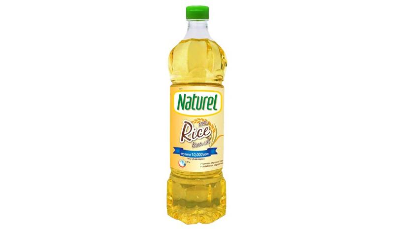 น้ำมันรำข้าวเนเชอเรล (Naturel) ขนาด 1 ลิตร