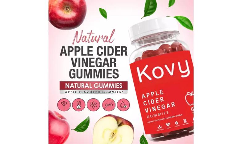Kovy apple cider vinegar gummies