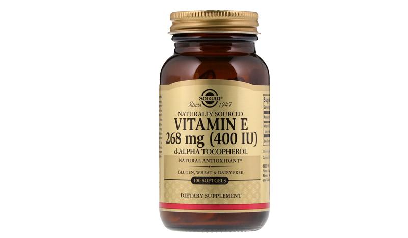 SOLGAR Naturally Sourced Vitamin E