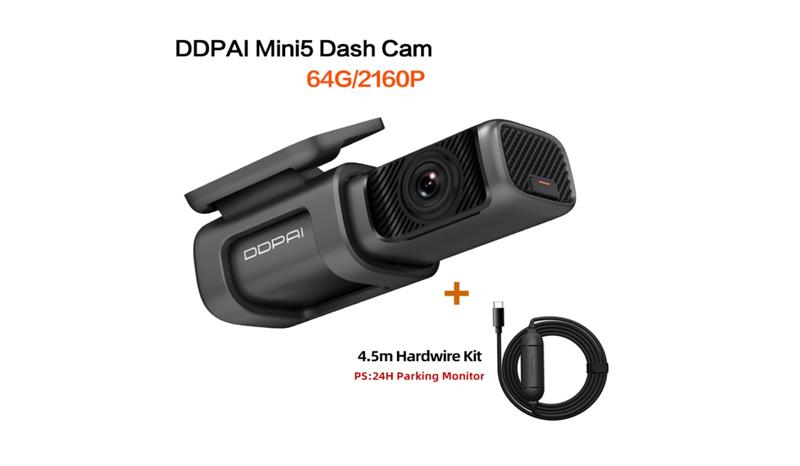 DDpai Mini5 Dash Cam Car Camera