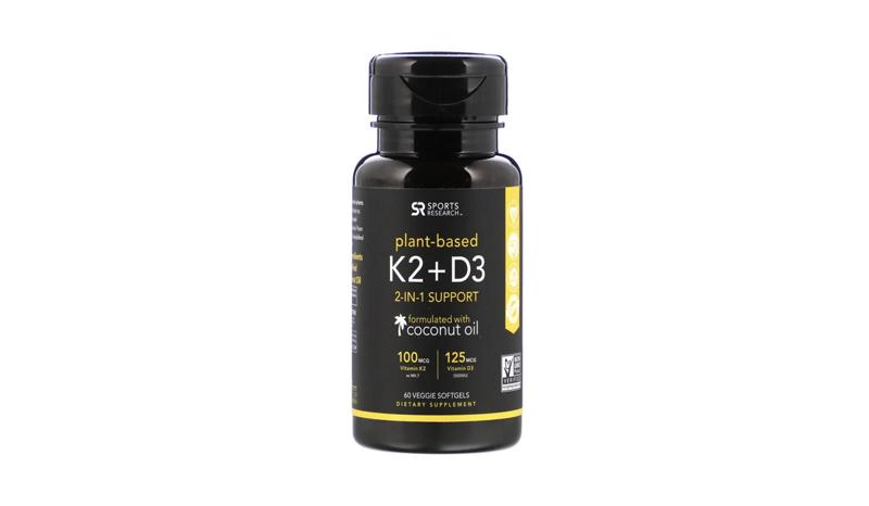 Sport Research วิตามิน K2 + วิตามิน D3