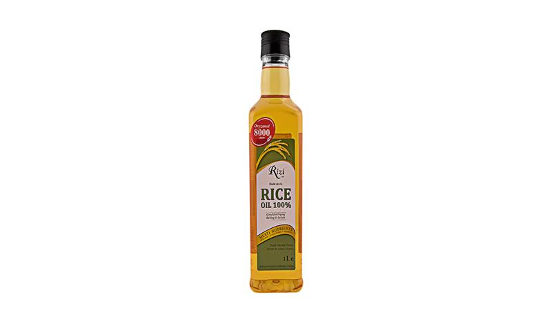 ริซี่น้ำมันรำข้าวโอไรซานอล 100 เปอร์เซ็นต์ (Rizi) ขนาด 1 ลิตร