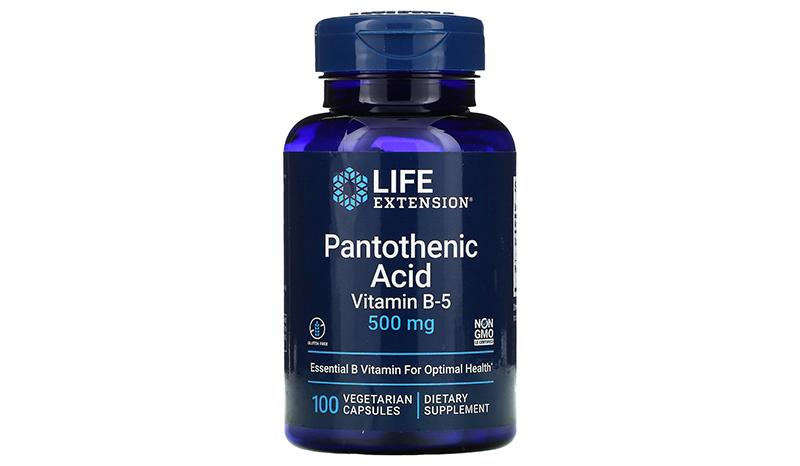Life Extension, Pantothenic Acid