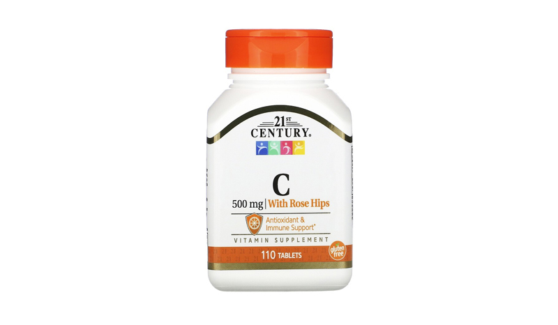 21st Century Vitamin C with rose hips 500 mg