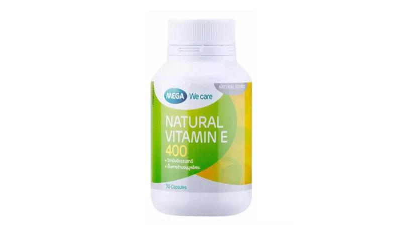 Mega We Care Natural Vitamin E