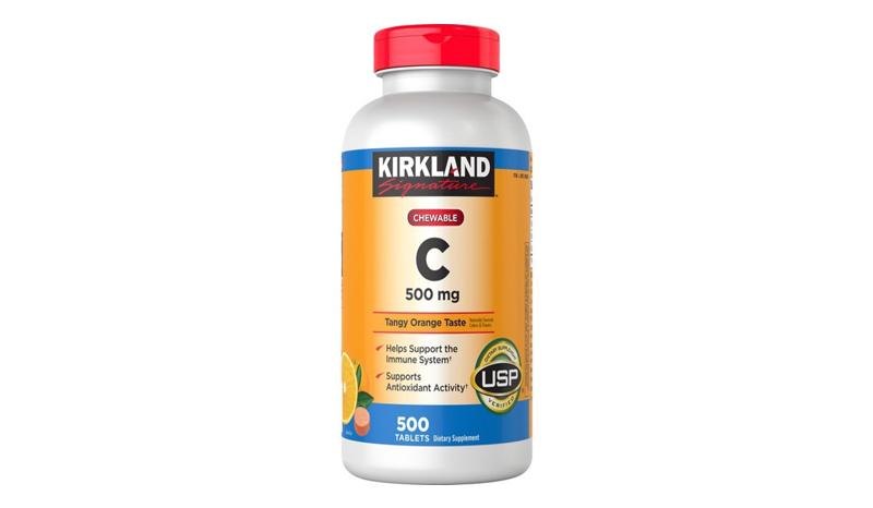 Kirkland Signature Vitamin C 500 mg