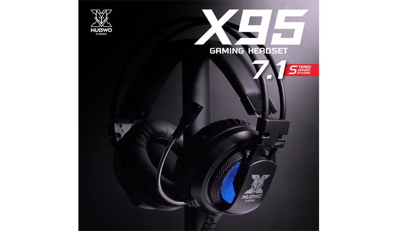 NUBWO X95 7.1 หูฟังเกมมิ่ง
