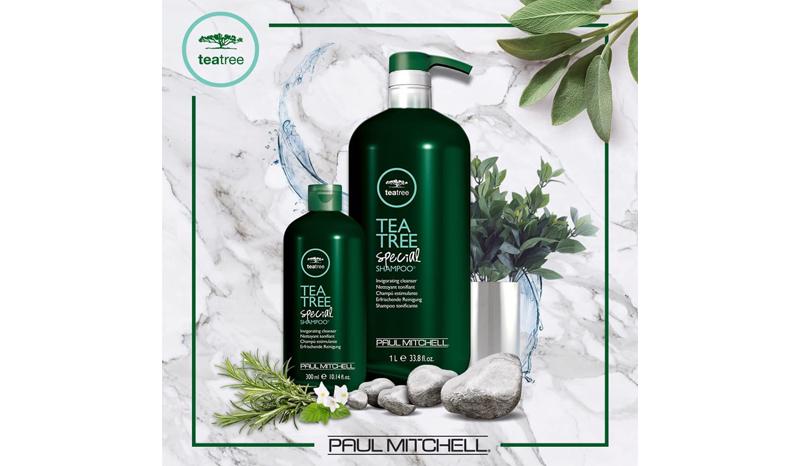 Paul Mitchell Tea Tree Special Shampoo 1000 ml แชมพูขจัดรังแค สูตรเย็น