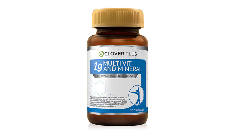 Clover plus 19 multivit and mineral