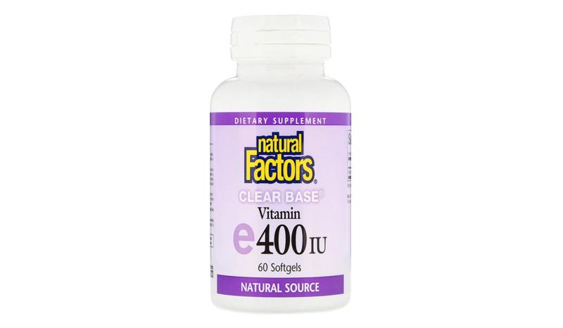 natural Factors Clear Base Vitamin E