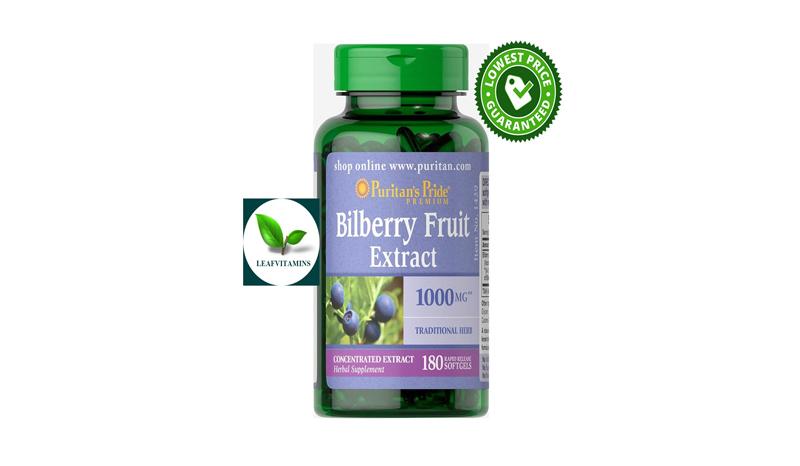 Puritan's Pride Bilberry Extract