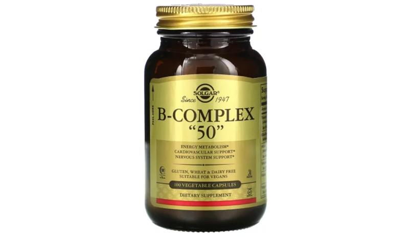 B-Complex 50 - 100 Vegetable Capsules (Solgar®)