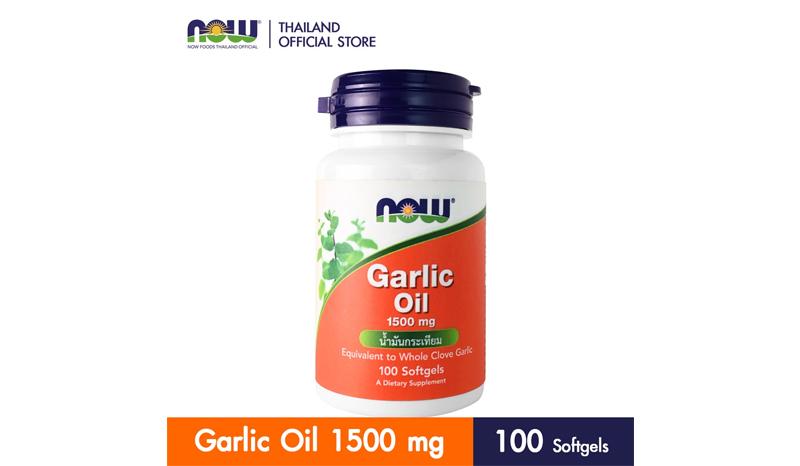 Now Garlic Oil