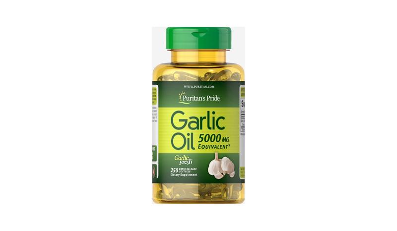 น้ำมันกระเทียม ยี่ห้อ Puritan's Pride Garlic Oil
