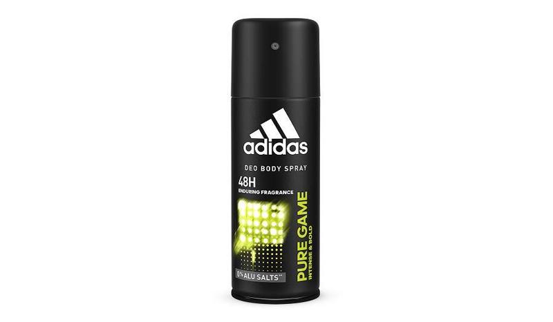 สเปรย์ระงับกลิ่นตัว adidas Pure Game Spray for Men