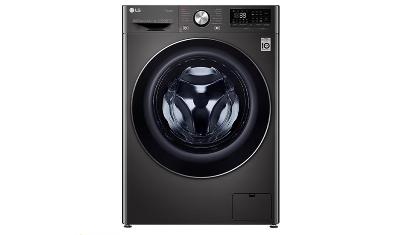 LG เครื่องซักผ้า/อบผ้าฝาหน้า (10.5/7 kg) รุ่น FV1450H2B.ABLPETH