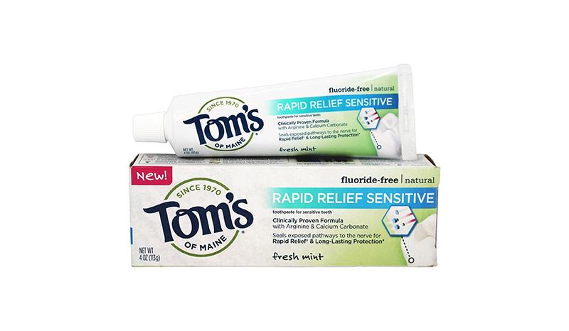 ยาสีฟัน Tom's of Maine Rapid Relief Sensitive