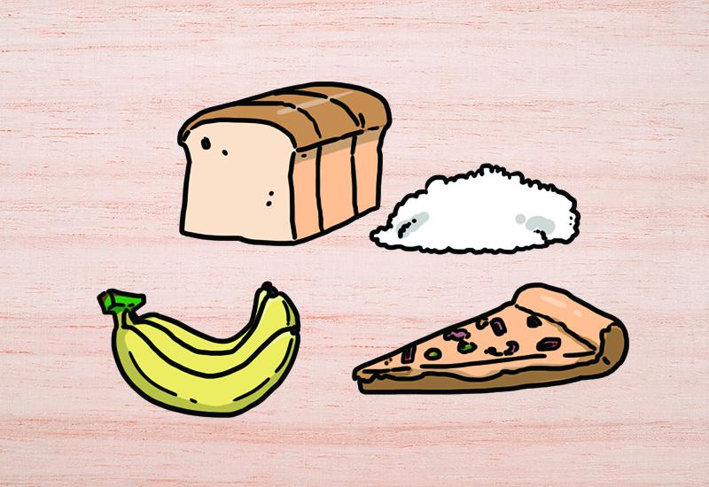 ควบคุมอาหารจำพวกแป้งและน้ำตาล