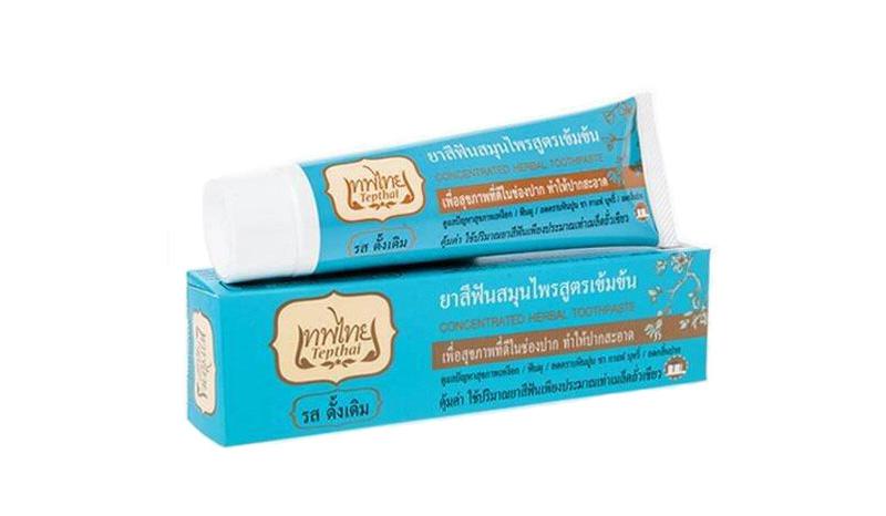 เทพไทย ยาสีฟันสมุนไพร รสดั้งเดิม