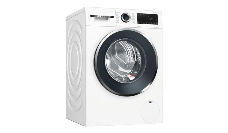 BOSCH เครื่องซักผ้า/อบผ้า ฝาหน้า (10/6 kg) รุ่นWNA254U0TH + ขาตั้ง