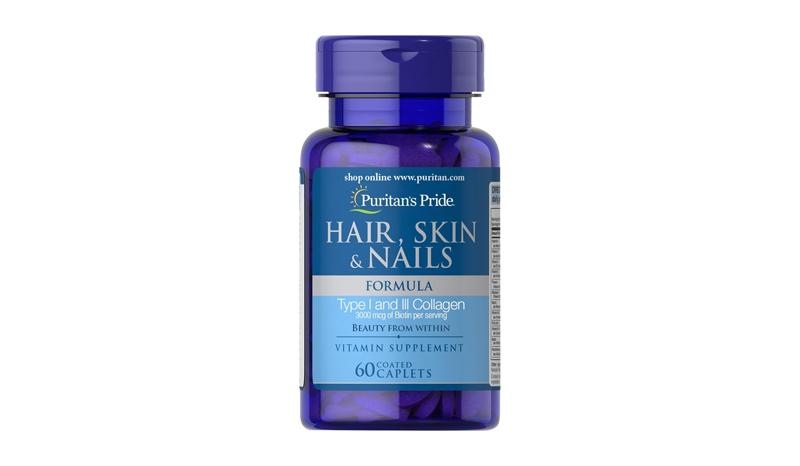 Puritan's Pride Hair Skin & Nail Formula 60 caplets