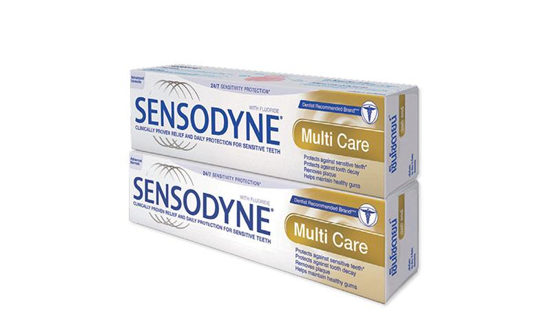 ยาสีฟัน Sensodyne Multi Care