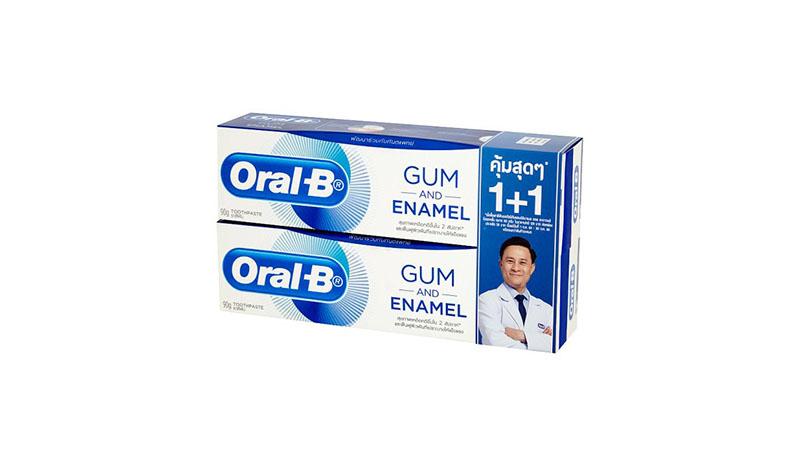 ยาสีฟัน Oral- B Gum and Enamel All around Protection