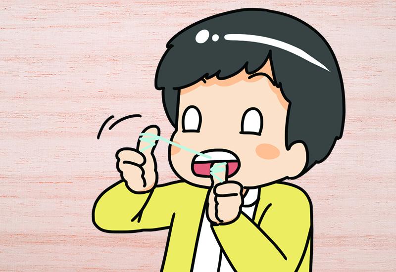 ใช้ไหมขัดฟัน