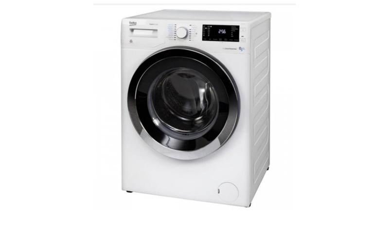 BEKO เครื่องซักผ้า-อบผ้าฝาหน้า (8/5 กก.) รุ่น WDW85143