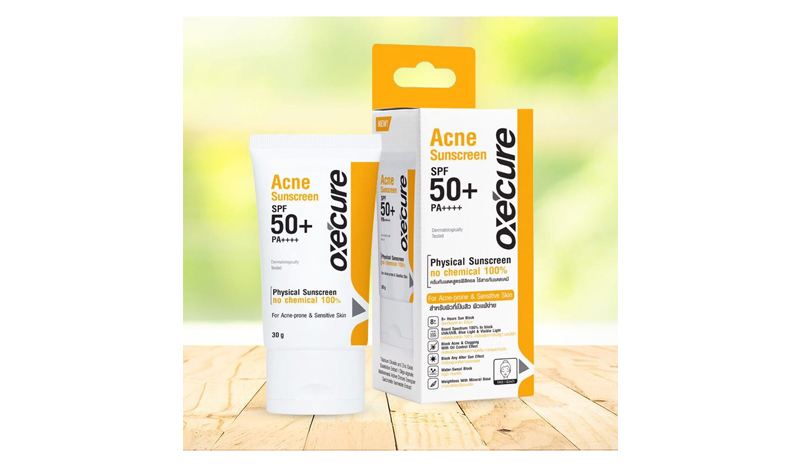 Oxe'Cure Acne Sunscreen SPF50+PA++++
