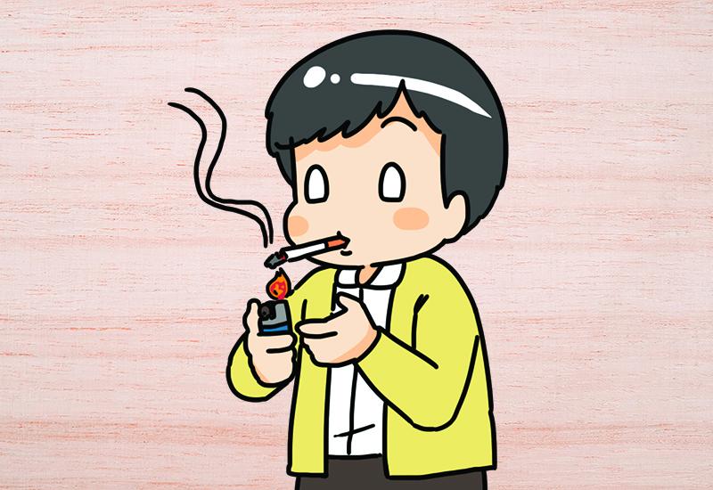 เลี่ยงการสูบบุหรี่