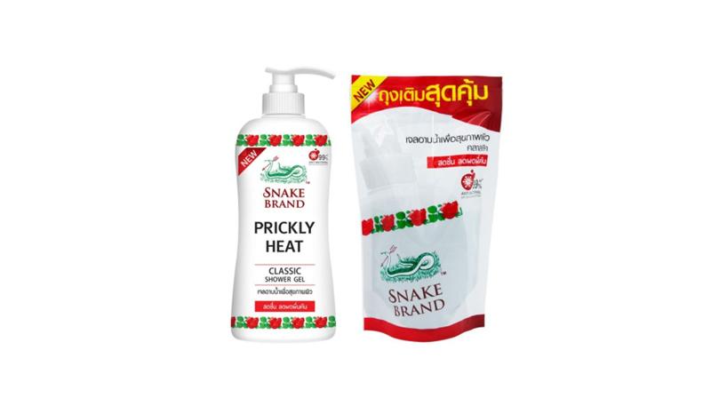 Snake brand Prickly heat