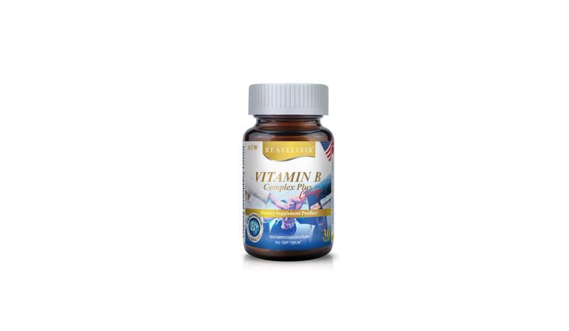 Real Elixir Vitamin B Complex Plus Ginkgo