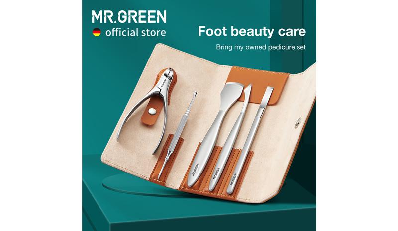 MR.GREENชุดดูแลเล็บเท้าProfessional