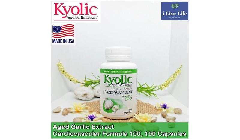 กระเทียมสกัด Kyolic Garlic Extract Cardiovascular Formula