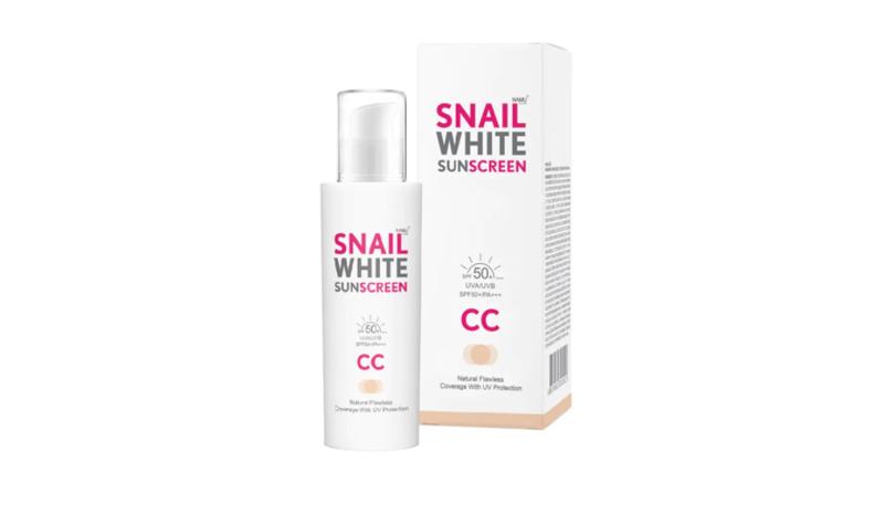 SNAILWHITE Sunscreen CC Cream SPF50+/PA