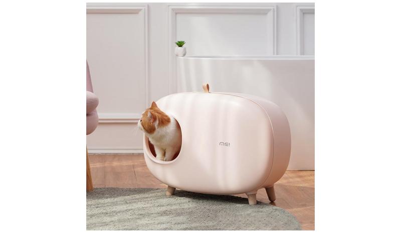 ห้องน้ำแมว สไตล์มินิมอล เก็บกลิ่นได้ดี ดีไซน์น่ารัก